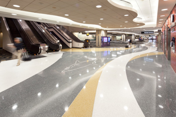 Pachyderm Marketing Portfolio Tampa Int L Airport Epoxy